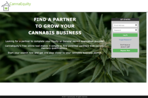 screenshot of CannaEquity.org